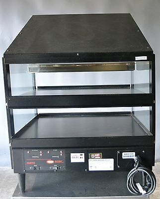 Used Hatco GRPWS-2424D Triple Shelf Pizza Display Warmer, Excellent, Free Shippi