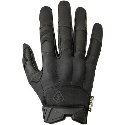 First Tactical Men's Hard Knuckle Glove Protective Combat Hand Army Guard Black