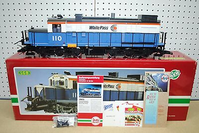 LGB 2055 White Pass Diesel Locomotive *G-Scale* NEW