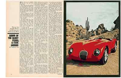Glory Years Of The C-Type Jaguar  ~  Nice 6-Page Article