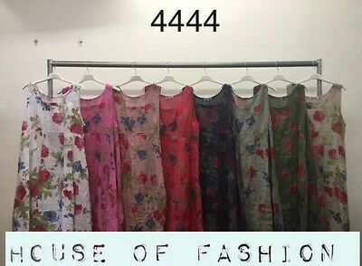Wholesale Joblot Ladies Women Itaian Square Neck Floral Dress 6 Pcs Mix Color
