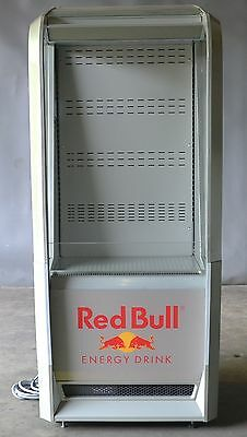 Used Open Front Red Bull Cooler, Excellent Working Condition, Free Shipping!