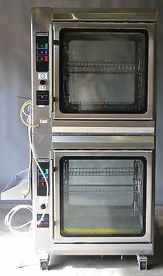 Used Hobart KA7E Double Stck Rottisserie Oven Electric , Excellent, Free Shippin