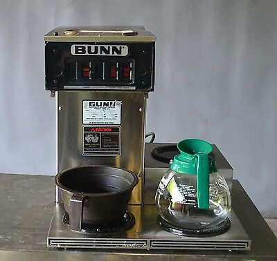 Used Bunn CWTF 15 Automatic Coffee Brewer 3 Warmers, Free Shipping!