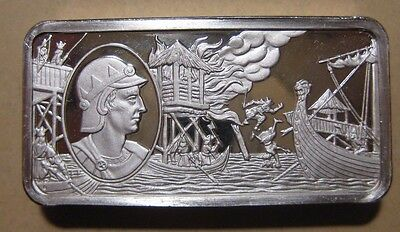 Franklin Mint - British Monarchy - Sterling Silver Bar - 65.9 Gram #2