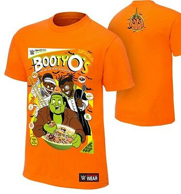 "Official WWE The New Day ""Booty-O's"" Halloween T-Shirt Small Mens Wrestling"
