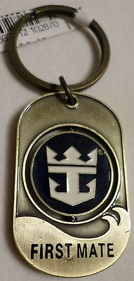 ms Navigator of the Seas . Royal Caribbean FIRST MATE Spinner Key Ring Boat Ship