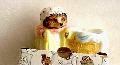 ENESCO BEATRIX POTTER MRS TIGGYWINKLE EGG CUP New and boxed