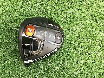 Cobra King F6 LEFT HANDED Adjustable Driver Head Very Nice Condition