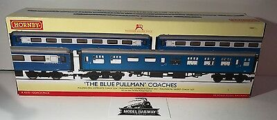 Hornby 00 GAUGE - R4310 - THE BLUE PULLMAN COACH TRIPLE PACK - NEW BOXED RARE