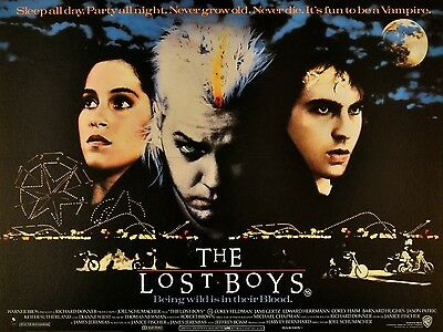 "The Lost Boys 16"" x 12"" Reproduction Movie Poster Photograph"
