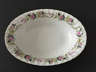 "Creative China Japan REGENCY ROSE 2345 - 10"" OVAL VEGETABLE / SERVING BOWL"