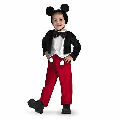 Disguise Mickey Mouse Kids Deluxe Costume 3T-4T