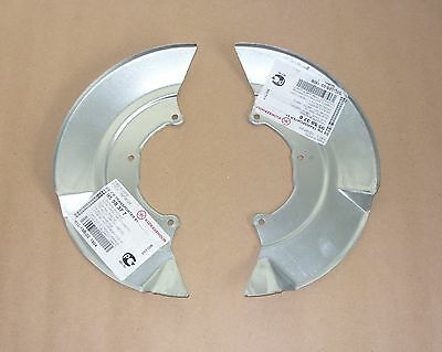Vw T4 2 X Front Brake Disc Cover Guard Plate Backplate, Right Left Set
