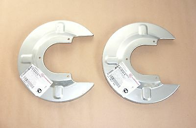 Vw T4 Transporter Rear Brake Disc Cover Guard Plate Backplate, Right & Left Set