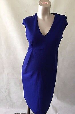 [65] H&M Maternity Blue Dress Size Medium (12-14)