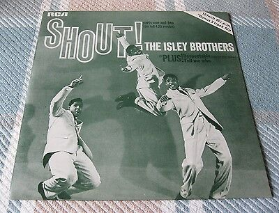 "The Isley Brothers - SHOUT! - Scarce Vinyl 12"" Single - Beauty!"