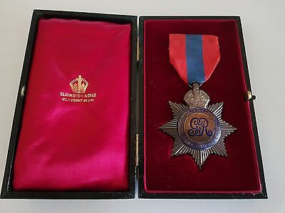 George V Imperial Service Order Medal Edwin T Pickering