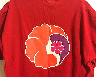 1999 Hawaiian Airlines Charity Walk T Shirt Pre-Owned Barely Used Rare L Lrg Lg