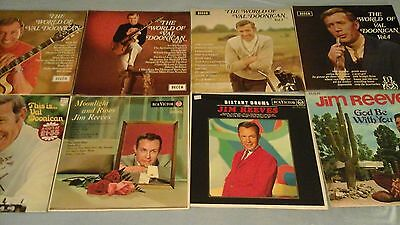 Vinyl LP Records Val Doonican, Jim Reeves Easy Listening, Country