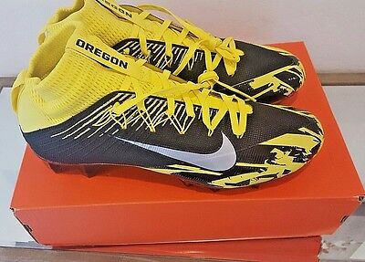 Oregon Ducks PE PROMO Nike Men's Vapor Untouchable 2 Football Cleats SZ 11 NEW