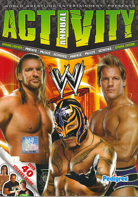 WRESTLING - WWE ACTIVITY ANNUAL SPRING EDITION -  2010 PEDIGREE PB - EX Cond.