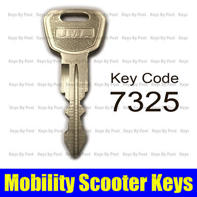 SPARE REPLACEMENT KEY FOR Days Strider Micro and Mini mobility scooter CODE 7325