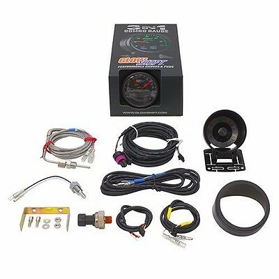 GS-3G-01 3 in 1 Black Boost w// Digital Exhaust Temp and Temperature Gauge