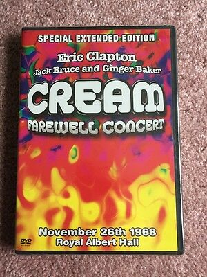 Special Extended Edition Eric Clapton Jack Bruce And Ginger Baker Cream Farewell