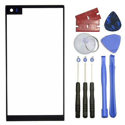 Black Outer Front Screen Glass Panel Lens Replacement for LG V20 VS995 US996 NEW