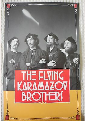 The Flying Karamazov Brothers Poster