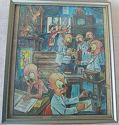 Framed Print of Continuing Education in Dingbat Land
