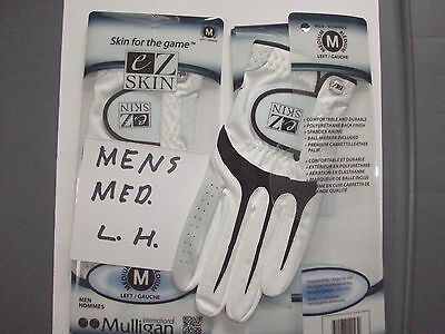 Mens Golf Gloves 2 Mens eZ SKIN Golf Gloves Size Medium Left Hand