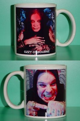 OZZY OSBOURNE - with 2 Photos - Designer Collectible GIFT Mug