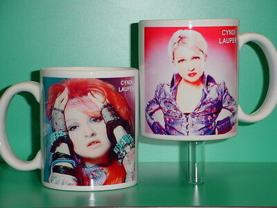 CYNDI LAUPER - with 2 Photos - Designer Collectible GIFT Mug