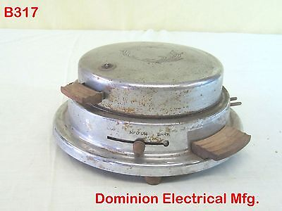 Vintage Antique Electric Waffle Iron Old Kitchen Appliance Dominion Eletrical