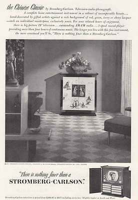1951 Stromberg-Carlson Television: Chinese Classic (17295) Print Ad