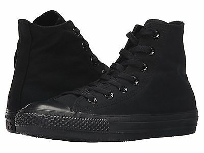 Converse All Star Chuck Taylor All Black Mono Hi Top Brand New FREE SHIPPING MEN