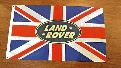 Land Rover Union Jack Flag Banner 3X5Ft Range Rover Sport Evoque Discovery