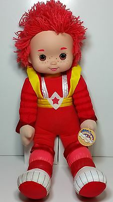 """LARGE Rainbow Brite Red Butler 18"""" Plush Soft Toy Doll 2003 *LIKE NEW!* OZ POST"""