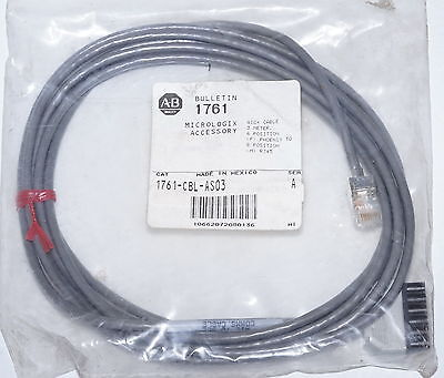 Allen Bradley 1761-CBL-AS03 Adapter Cable Lead