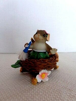 """Fitz & Floyd Charming Tails """"Spring Cleaning"""" Item : 98/256 - Special Edition"""
