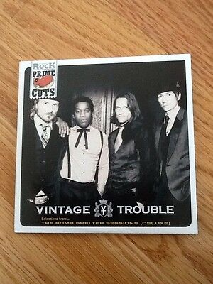 """VINTAGE TROUBLE BAND (Blues/R&B), RARE Limited Edition """"PRIME CUTS"""" CD"""