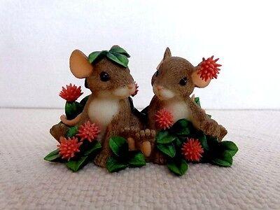 """Fitz & Floyd Charming Tails """"Lucky I Found You"""" Item : 88/120"""