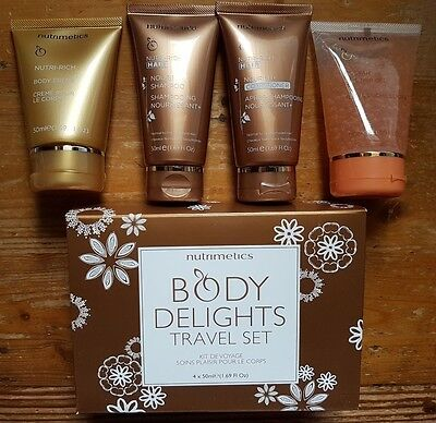 Nutrimetics ' Body Delights TRAVEL SET ' Brand New RRP $40.