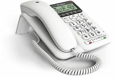 NEW TELSTRA Guardian 302 HOME PHONE A/MACHINE BIG NUMBERS HEARING AID COMPATIBLE
