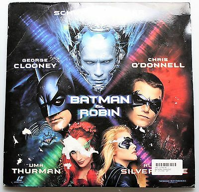 Widescreen Laser Disc BATMAN & ROBIN: George Clooney/Chris O'donnell