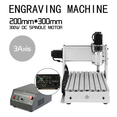 De Cnc 3 Axis Engraver Usb Cnc 3020 Router Engraving Drilling Milling Machine