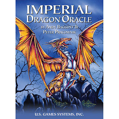 Imperial Dragon Oracle NEW Deck 22 Cards by US Games Peter Pracownik Fantasy