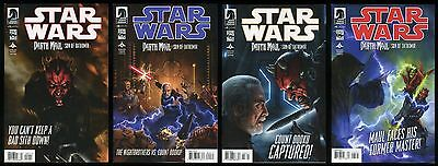 Star Wars Darth Maul Son of Dathomir Full Comic Set 1-2-3-4 Lot General Grievous